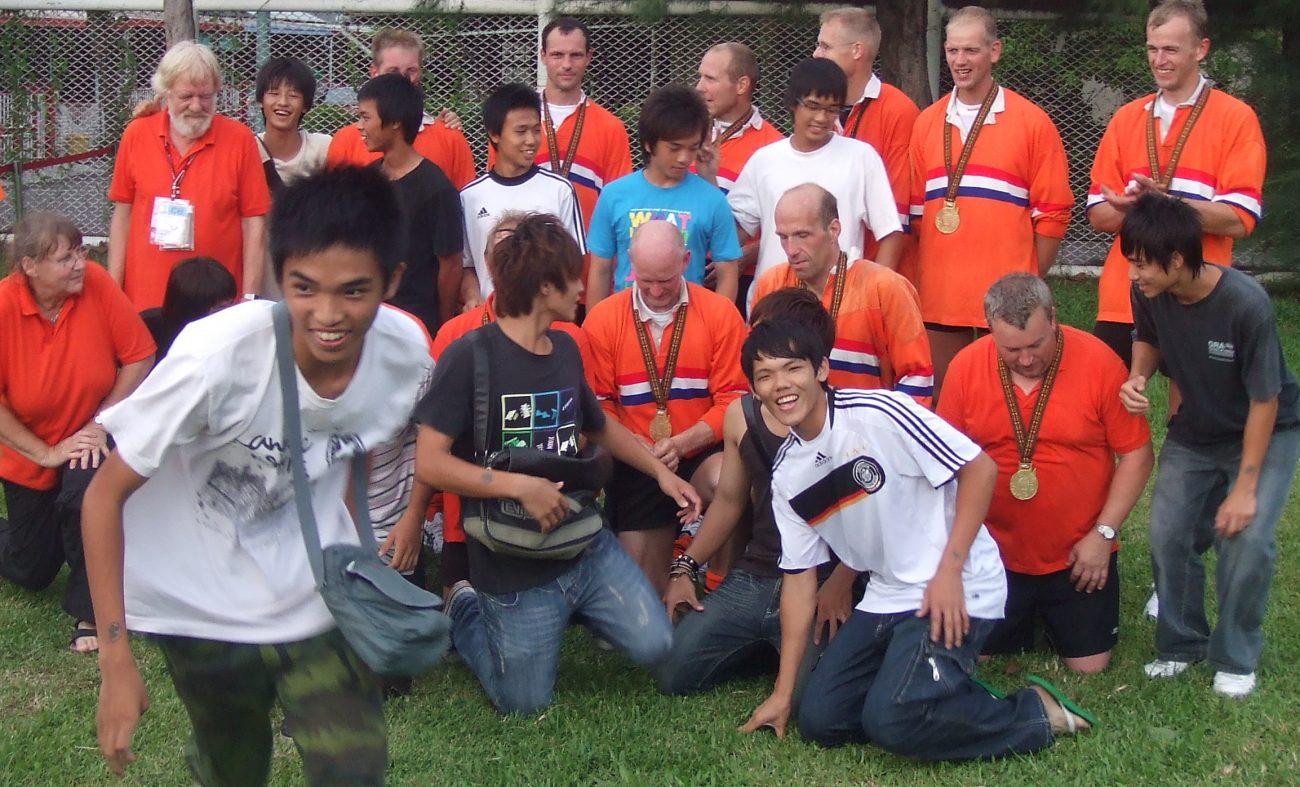 World Games Tauziehen Holland Teamfoto