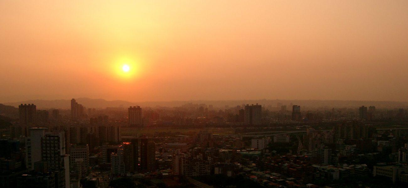 Taipei Sonnenuntergang